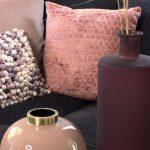 Lohenpunainen koristetyyny KAMELI 45x45 cm LIGHT & LIVING.